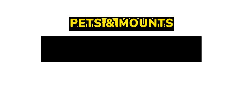 PETS & MOUNTS