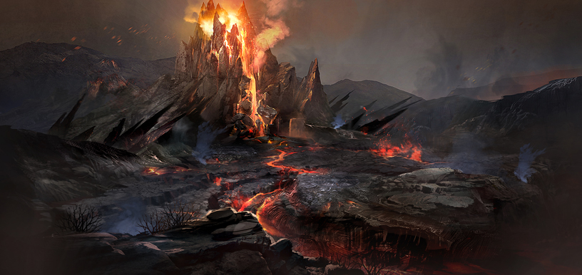 불타는 고원