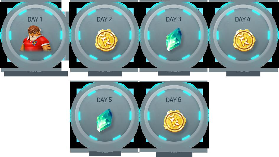 테스트 기간 동안 매일 게임에 출석하면 다양한 보상을 100% 받을 수 있습니다. 기간: 2018.10.11 ~ 10.14